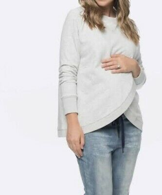 Bae The Label Maternity Breastfeeding Top Jumper Size Xs