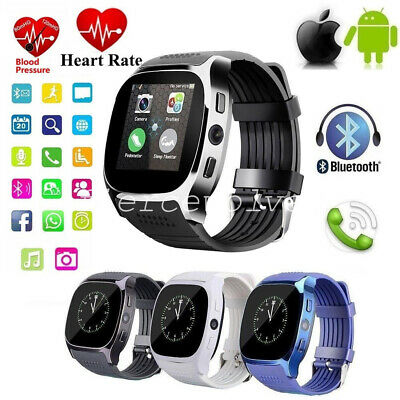 Bluetooth Smart Wrist Watch GSM Phone For Android Samsung iPhone Man Women UK