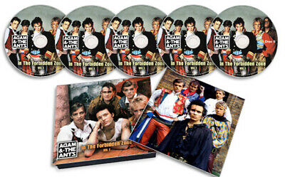 Adam And The Ants Vol. 2 In The Forbidden Zone 5 Cd