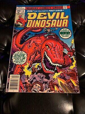 #1-9 Complete 1978! Devil Dinosaur Comics Lot High Grade Marvel