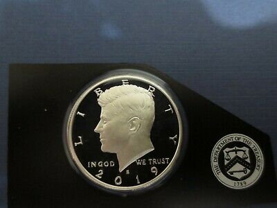 2019 S Kennedy SILVER Half Dollar, Perfect Gem Proof  99.9 SILVER $