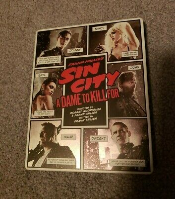 Frank Millers Sin City: A Dame to Kill For (Blu-Ray/Blu-Ray 3D) (Steelbook)