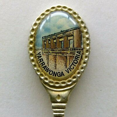 Yarrawonga Vic The Seat Of Higher Learning Sonic Souvenir Spoon Teaspoon (T107)