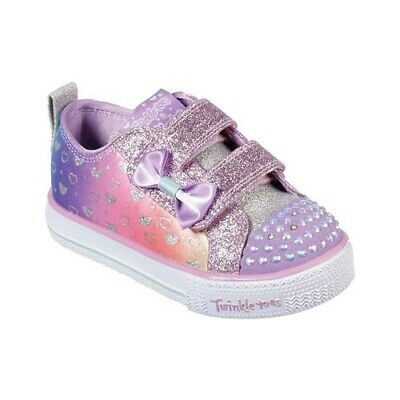 Shuffles Sparkle Lite Blue//Unicorn 10988N 617 Toddler Skechers Twinkle Toes