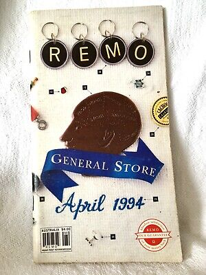 VINTAGE REMO General Store Catalogue 1994! Ah, the Memories of this Iconic Store