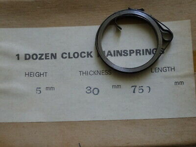 1 Only Vintage Mainspring Clock Part,