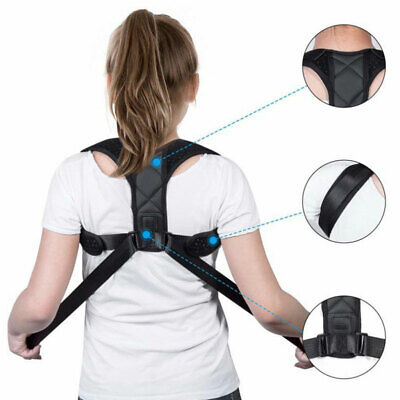 New Back Straightener Support Shoulder Posture Corrector Pain Relief Belt Corset