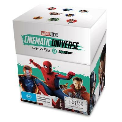 Marvel Studios Cinematic Universe Phase 3 Part 1 Limited Edition Blu-ray/DVD Set