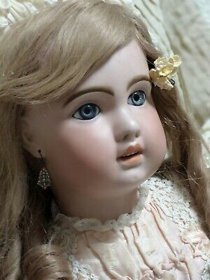 """Antique French Bebe Jumeau 1907Bisque Child Doll, 31"""" perfect original condition"""