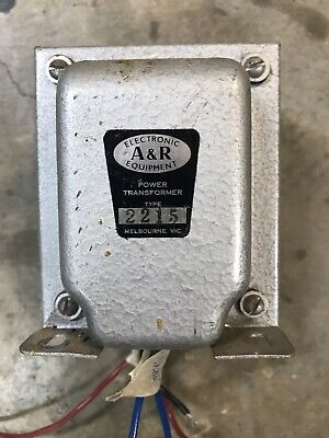 Power Transformer A&R Primary 240V Secondary 44V