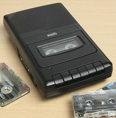 Cassette Player And Recorder. Rrp $79. New In Box.