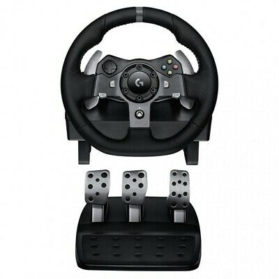 Logitech G920 Driving Force Racing Wheel for XBOX/PC Dual-Motor Force Feedbac...