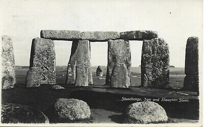 Postcard Stonehenge Addressed to Tulloch, Lerwick Shetland 1952