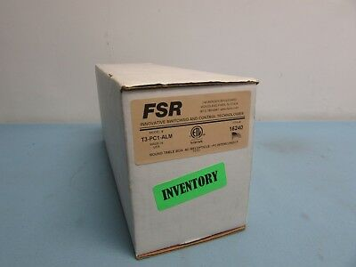 FSR T3-PC1-ALM Round Table Receptacle (37D)