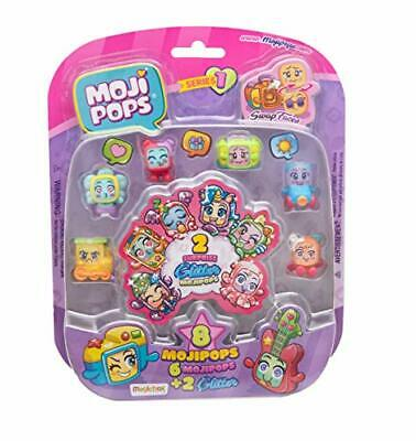 MojiPops- Glitter Surprise Serie 1 Figuras coleccionables (Magic Box PMP1B816IN