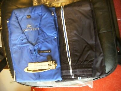 """girls track suit stormtech royal navy white black approx 32"""" chest"""