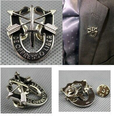 US ARMY Special Forces DE OPRESSO LIBER Lapel Pin Badge Brooch Accessories