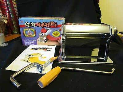 Nicole Clay Machine With Clamp  All Clays 7 Settings Softens Clay Rolls Evenly