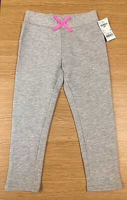 OSHKOSH B'gosh Girls Light Grey Sweat Pants, Tracksuit Bottoms, Aged 4 Years