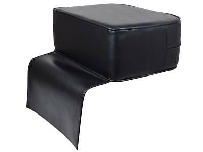 Premium Black Child Booster Seat Cushion For Barber Shop Salon Hairdresser