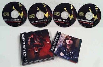 Bruce Dickinson Living In A Bubble Of Sin 4 Cd