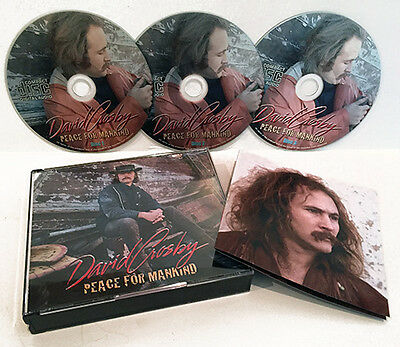 David Crosby Peace For Mankind 3 Cd