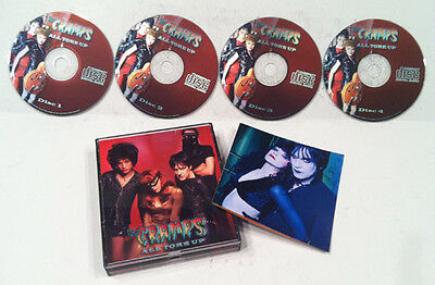 The Cramps All Tore Up 4 Cd