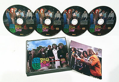 Crosby, Stills, Nash & Young Csny Vol. 1 Know They Love You 4 Cd
