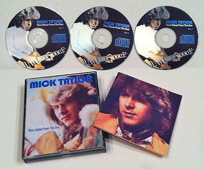 Mick Taylor  Rolling Stones Third Stone From The Sun 3 Cd