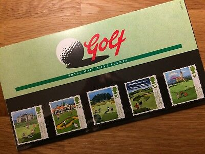 QE2 GB 1994 PP MNH GOLF St Andrews Muirfield Carnoustie Royal Troon Turnberry
