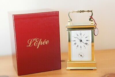 L'epee Carriage Clock - Still In Original Case - Never Used