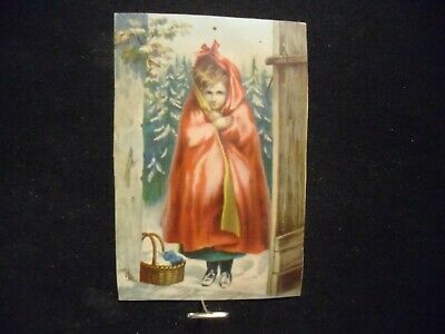 Victorian trade card # 5803- DR. JAYNE'S - LITTLE RED -RIDING-HOOD