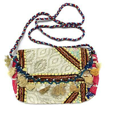 Vintage Tribal Banjara Indian Handmade Ethnic Women Purse Tibetan Clutch Bag