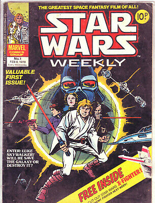 star wars orig marvel uk comic collection 138 issues all in ex condition