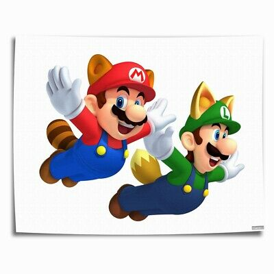 Super Mario Bros HD Canvas prints Painting Home Decor Picture Room Wall art