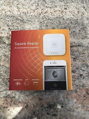 New In Sealed Package Square Reader Contactless Chip And Magstripe