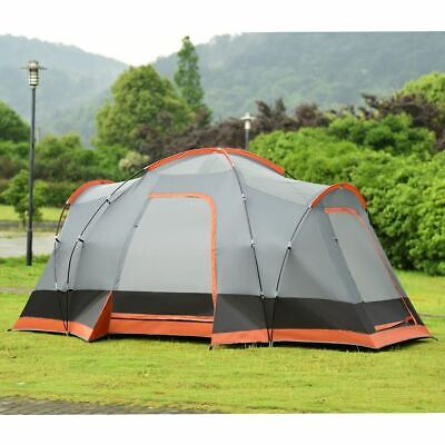 Durable 8 People Automatic Pop Up Hiking Tent with Bag - Outdoor Recreation