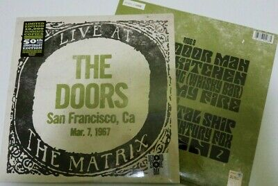 THE DOORS LIVE AT MATRIX record store day 2017 RSD LP sealed rare