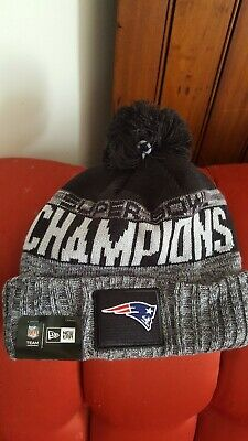 info for 5d1ad 3531a New England Patriots 2018 Super Bowl Liii 53 Champions Knit Winter Hat Cap  New!