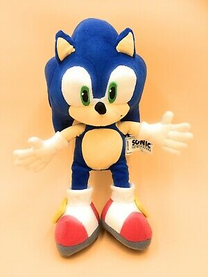 """Sonic The Hedgehog Soft Toy Plush Sega Toy Network Approx 12"""""""