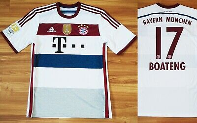 0388461026f Boateng 17 Bayern Munich Munchen 2014-2015 Away Soccer Football Jersey Shirt  L