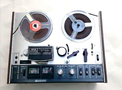 REGISTRATORE Akai tape recorder 4000DB