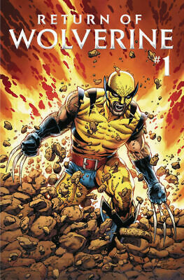 UNREAD!!! Return of Wolverine #1 Patch Costume Variant BRAND NEW