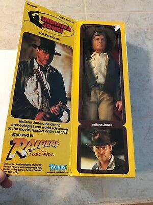 Kenner 1981 Indiana Jones 12' Action Figure Raiders Of The Lost Ark Brand New