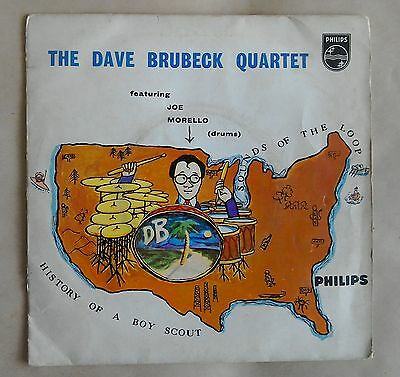 "Dave Brubeck Quartet History of a Boy Scout 7"" EP Philips BBE 12188"