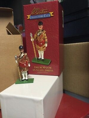 Britains Drum major collectors club figure