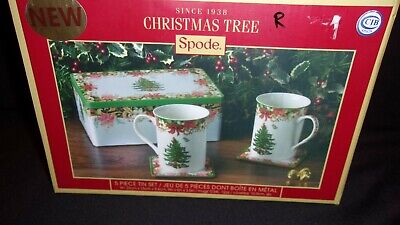 Spode Christmas Tree Cannister Cookie Jar S3324 L 19 95 Picclick