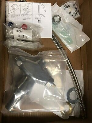 CHICAGO FAUCETS Kitchen Faucet,2.2 gpm,5-1/4In Spout, 50-ABCP Free Shipping