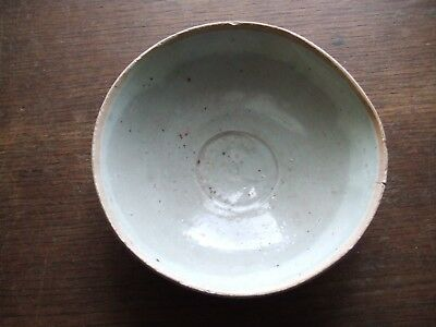 China.   Sung Dynasty.  Blueish Glazed Pottery Bowl.    Superb Condition.