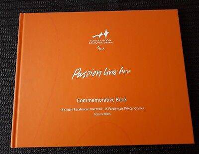 Olympiade TORINO 2006 IX PARALYMPIC WINTER GAMES Commemorative Photo Book 2006